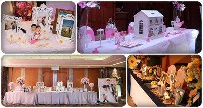 trang trí sảnh cưới