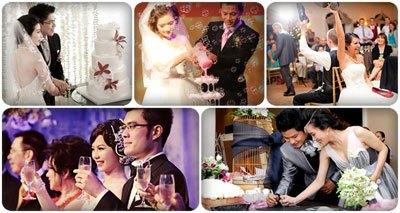 chương trình tiệc cưới