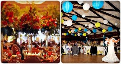 đám cưới sặc sỡ hoàn hảo