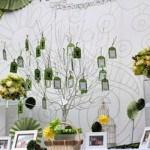 Kinh nghiệm giúp cô dâu chú rể tự trang trí sảnh cưới ấn tượng