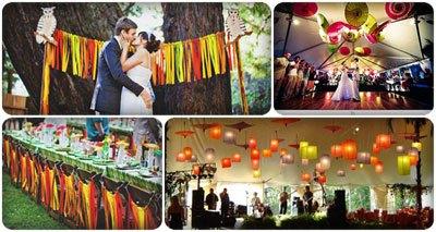 đám cưới sặc sỡ ấn tượng