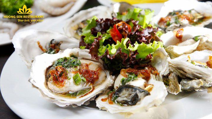 buffet Hà Nội cao cấp Hương Sen