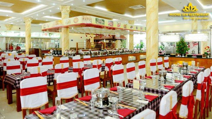 Nhà hàng buffet hải sản cao cấp Hương Sen