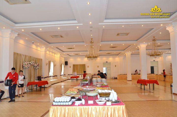 Tiệc buffet sự kiện đại hội dòng họ Trần