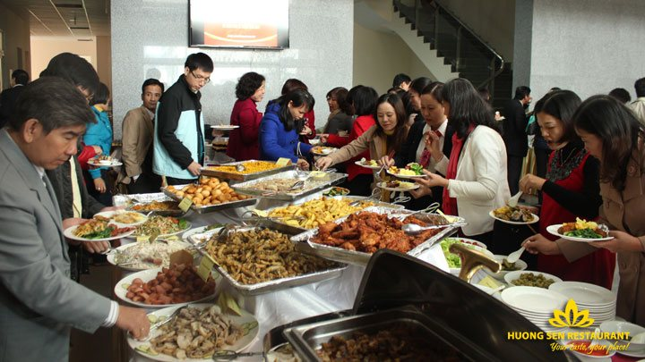 tiệc lưu động Hương Sen
