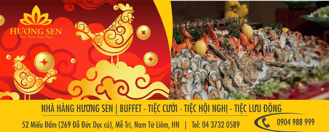 Buffet hải sản cao cấp Hà Nội – Nhà hàng Hương Sen