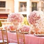 Cách sắp xếp bàn tiệc độc đáo và ấn tượng cho cô dâu chú rể