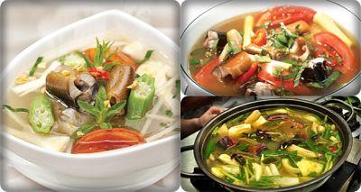 canh lươn nấu khế