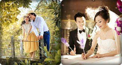 công việc ngày cưới
