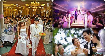 lịch trình ngày cưới