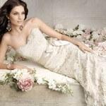 Cách chọn áo cưới ren nổi phù hợp với cô dâu trong lễ cưới