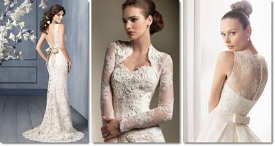 áo cưới ren nổi