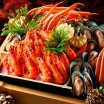 Thực đơn buffet hải sản