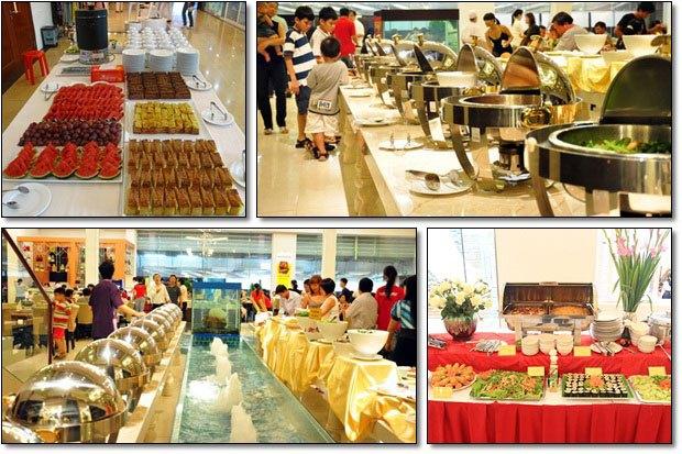 Mobile buffet - Huong Sen