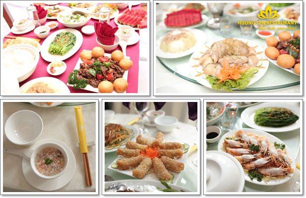 Mobile party's menu - Huong Sen