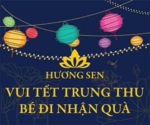 Trung thu 2014 Tại Hương Sen