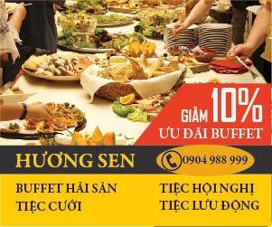 Ưu Đãi Buffet Hải Sản Cao Cấp Tại Hương Sen