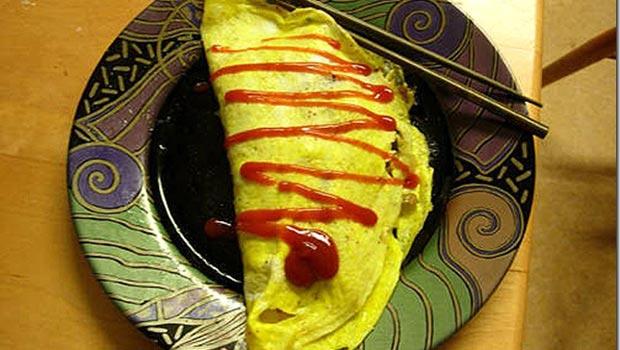 món trứng cuộn cơm
