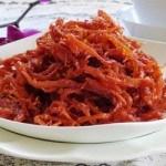 Cách làm mực khô tẩm tương ớt ăn trong những ngày lạnh