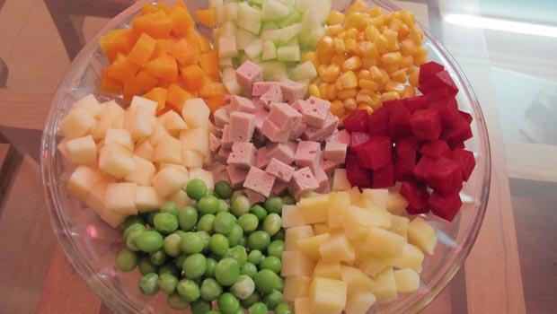 cách làm salad nga