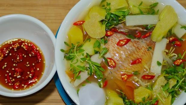 Cách nấu canh chua cá điêu hồng ngon đúng chuẩn kiểu miền Nam 1