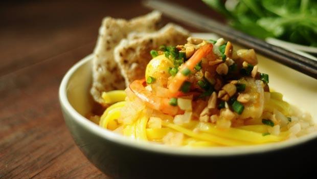 Cách nấu mì Quảng ngon