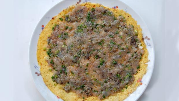 trứng cuộn tôm