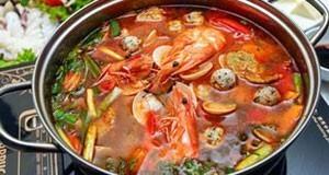 Hướng dẫn nấu lẩu thái hải sản chua cay ngon tuyệt vời