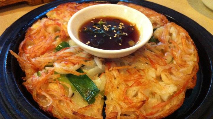 bánh xèo Hàn Quốc