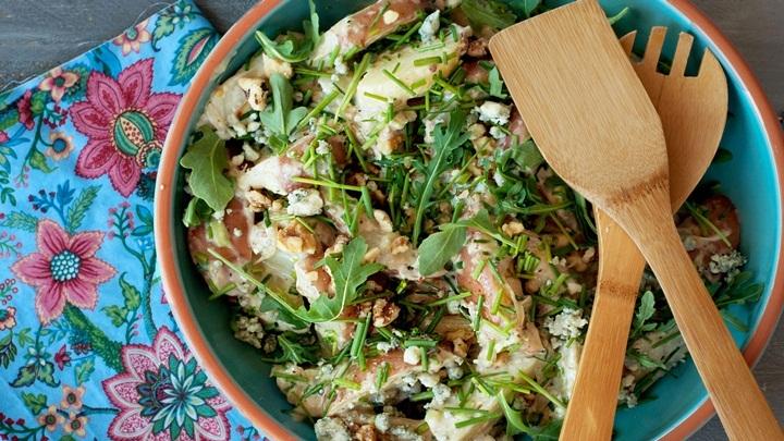 salad gà rau củ