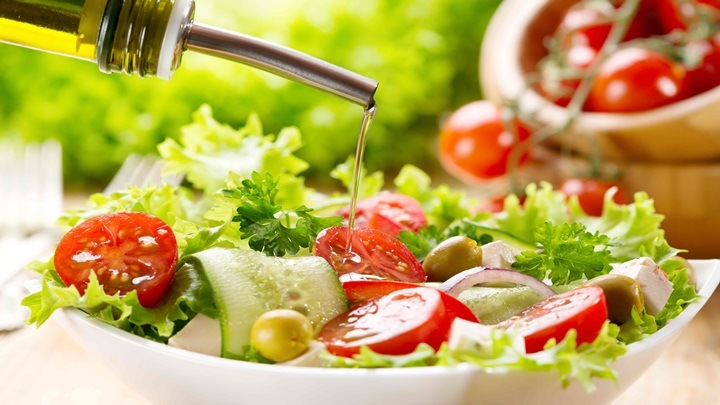salad mực