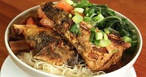 Cách chế biến món bún cá rô đồng bổ dưỡng, hấp dẫn cho gia đình