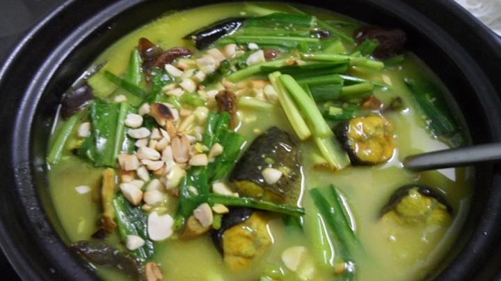 lươn om chuối đậu