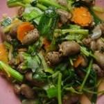 Cách làm món tim xào rau củ đơn giản cho bữa cơm của gia đình