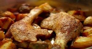 Đùi vịt nướng ngũ vị cho bữa ăn cuối tuần thêm hấp dẫn