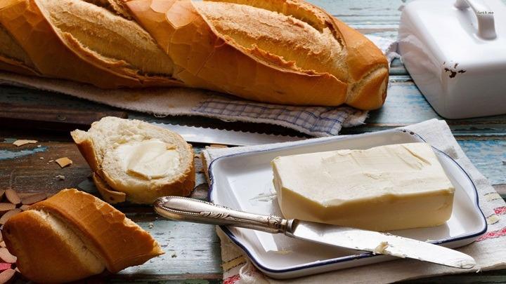 Nguyên liệu để làm bánh mì bơ tỏi