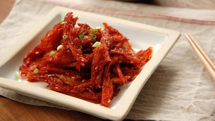 cá khô sốt chua ngọt
