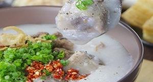 Cháo sườn – món ăn nóng hổi đơn giản mà hấp dẫn