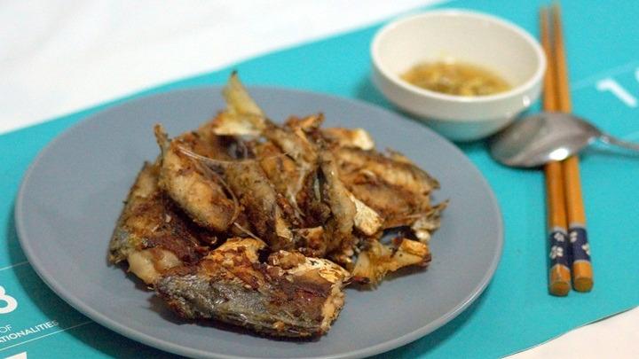 cá nục kho kiểu Hàn Quốc