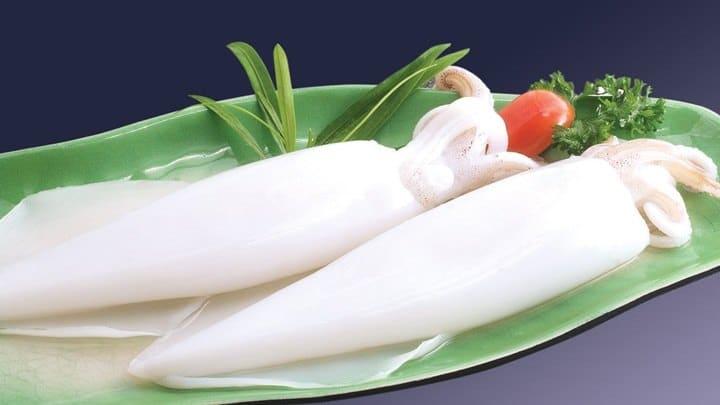 mực xào cay kiểu Hàn