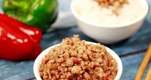 Kết hợp gia vị chua ngọt cùng thịt heo bằm – Thịt bằm chua ngọt