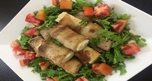 thịt cuộn đậu phụ