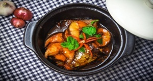 Cá kho sa tế tôm – món ngon mới lạ mang hương vị cay thơm