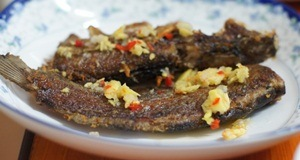 Cá trê nướng mắm gừng – món ngon lạ miệng lại rất bổ dưỡng