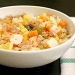 Cơm cá hồi – món ngon bổ dưỡng cho cả gia đình ngày cuối tuần