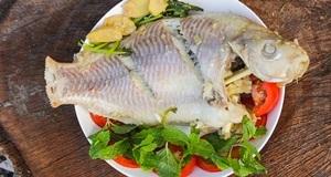 Cá diêu hồng hấp gừng ngon cơm dễ làm bạn phải thử ngay