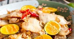 Thịt ba chỉ xào sả ớt thơm ngon dễ làm với công thức từ Hương Sen