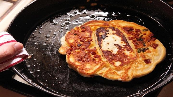 pancake dau xanh han quoc 3