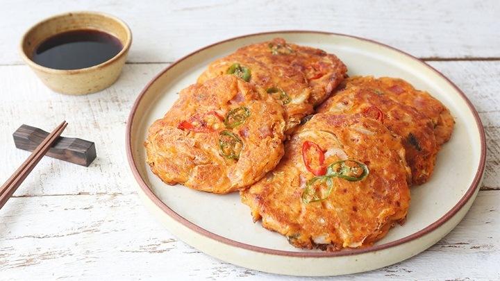 pancake dau xanh han quoc