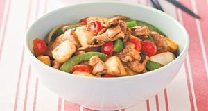 Thịt chiên chua ngọt kiểu Hàn lạ miệng cho bữa tối thêm đậm đà